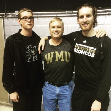 Dave LaMont with sons Drew (left) and Drake (right)